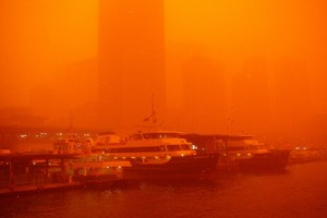 The dust storms that covered Sydney could become the norm