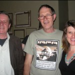 Down at the pub with Kim Stanley Robinson, Geoff Ryman and Paul McAuley