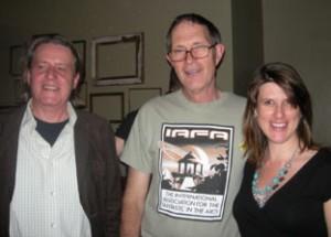 Geoff Ryman, Paul McAuley and Alison George