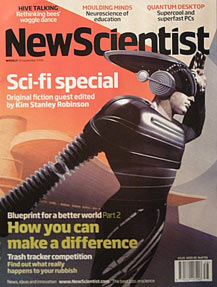 The latest issue of New Scientist focuses on science fiction