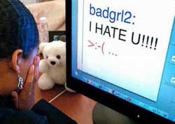Cyberbullying is a growing trend
