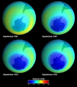 Hopefully the rapid depletion of the ozone layer has been reversed