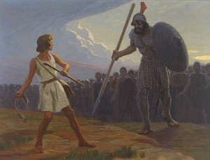 David and Goliath by Fugel