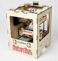 Makerbot Thing-O-Matic (image by makerbot, Flickr, CC)