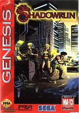 Shadowrun (Genesis Cover)