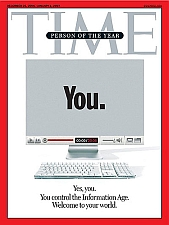 Time Magazine - You (image from David Fraiz, Flickr, CC)