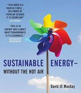 Sustainable Energy - without hot air