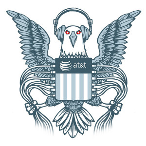 NSA Eagle (image by EFF, CC, Flickr)