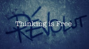 Thinking Is Free (image by Dr. Strangelove, CC, Flickr)