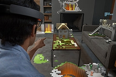HoloLens Minecraft (image by Microsoft Sweden, Flickr, CC)