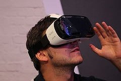 Samsung Gear VR (image by Maurizio Pesce, Flickr, CC)