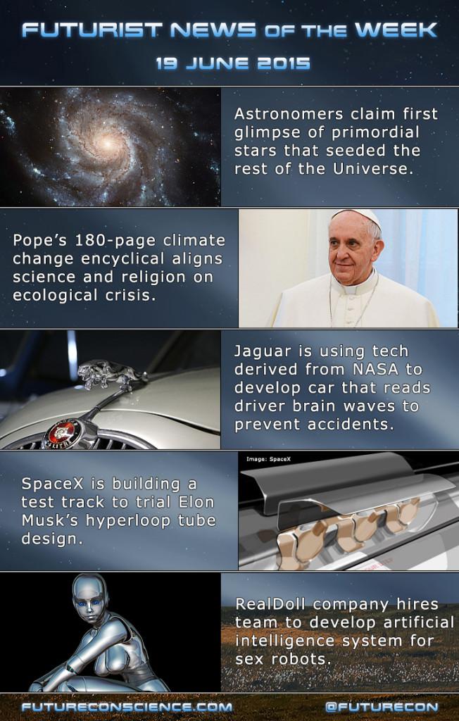 Futurist News of the Week - 19 June