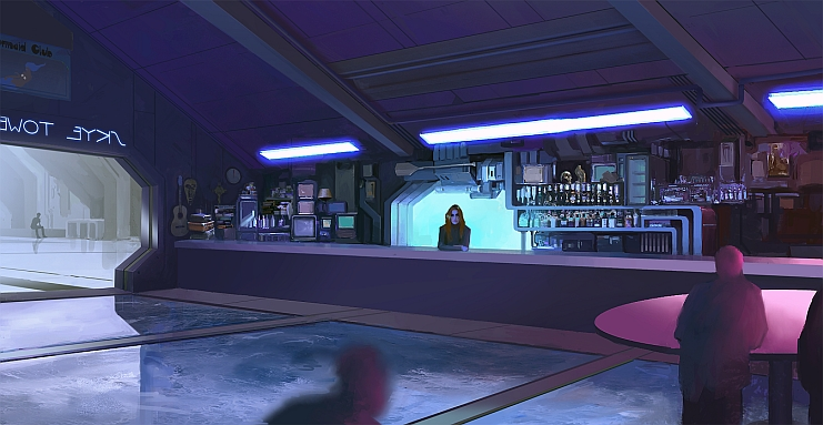 Skye Bar - Concept Art