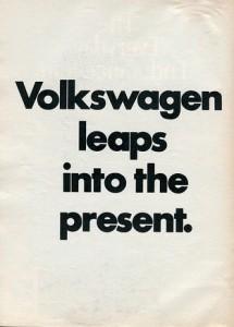 Volkswagen Leaps into the Present (CC, SenselAlan)