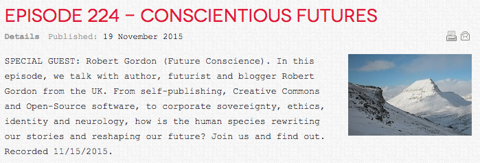 Robot Overlordz - Episode 224: Conscientious Futures
