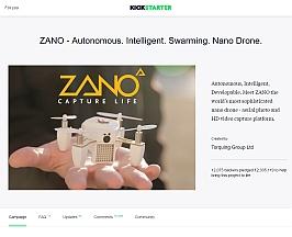 Zano Kickstarter